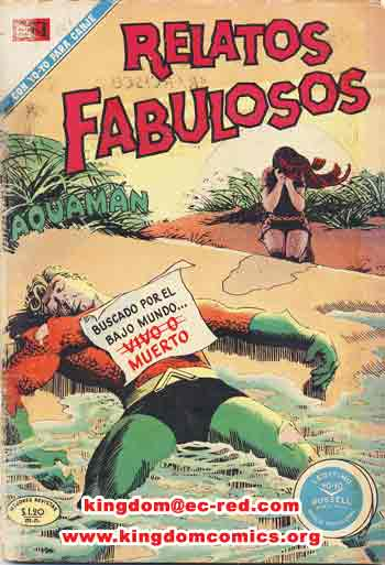 Relatos Fabulosos Mexican comics 123